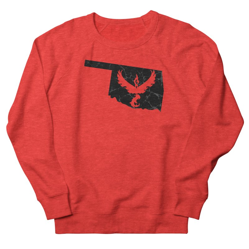Pokemon Go Oklahoma -Team Valor (Black) Women's Sweatshirt by Oklahoma Gamers' Shop
