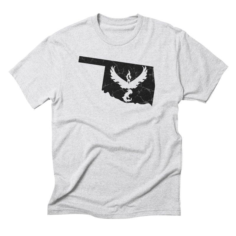 Pokemon Go Oklahoma -Team Valor (Black) Men's Triblend T-shirt by OKgamers's Shop