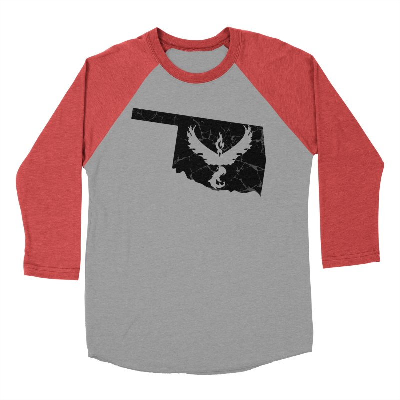Pokemon Go Oklahoma -Team Valor (Black) Women's Baseball Triblend T-Shirt by OKgamers's Shop