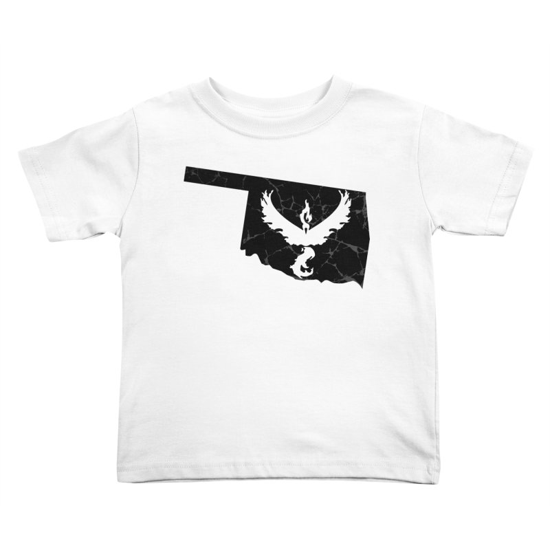 Pokemon Go Oklahoma -Team Valor (Black) Kids Toddler T-Shirt by Oklahoma Gamers' Shop