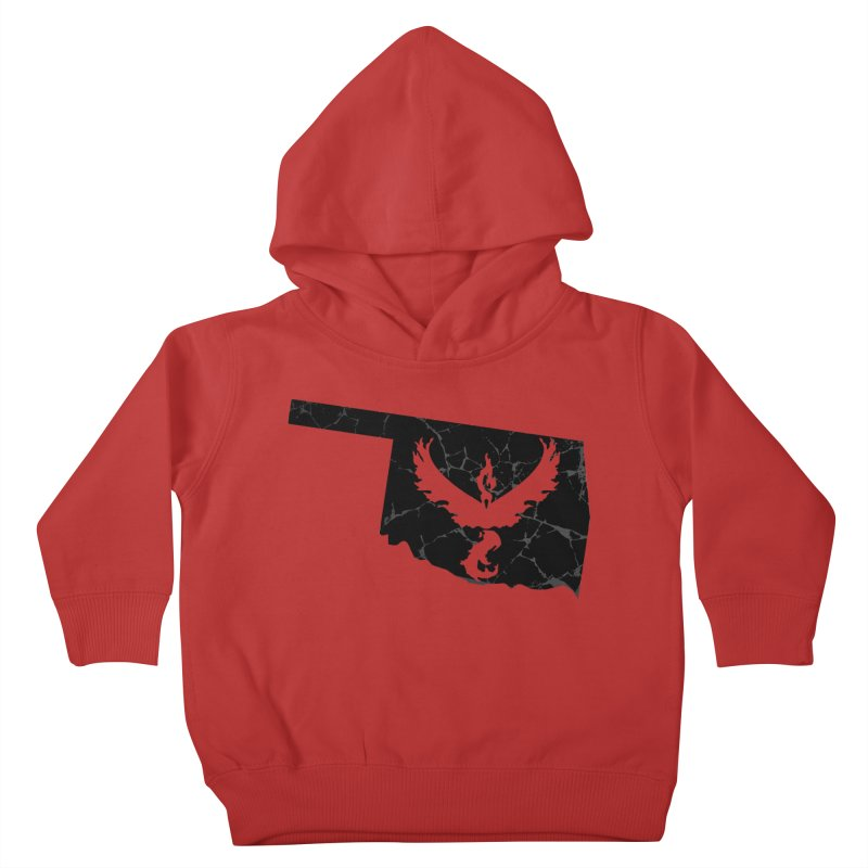 Pokemon Go Oklahoma -Team Valor (Black) Kids Toddler Pullover Hoody by OKgamers's Shop