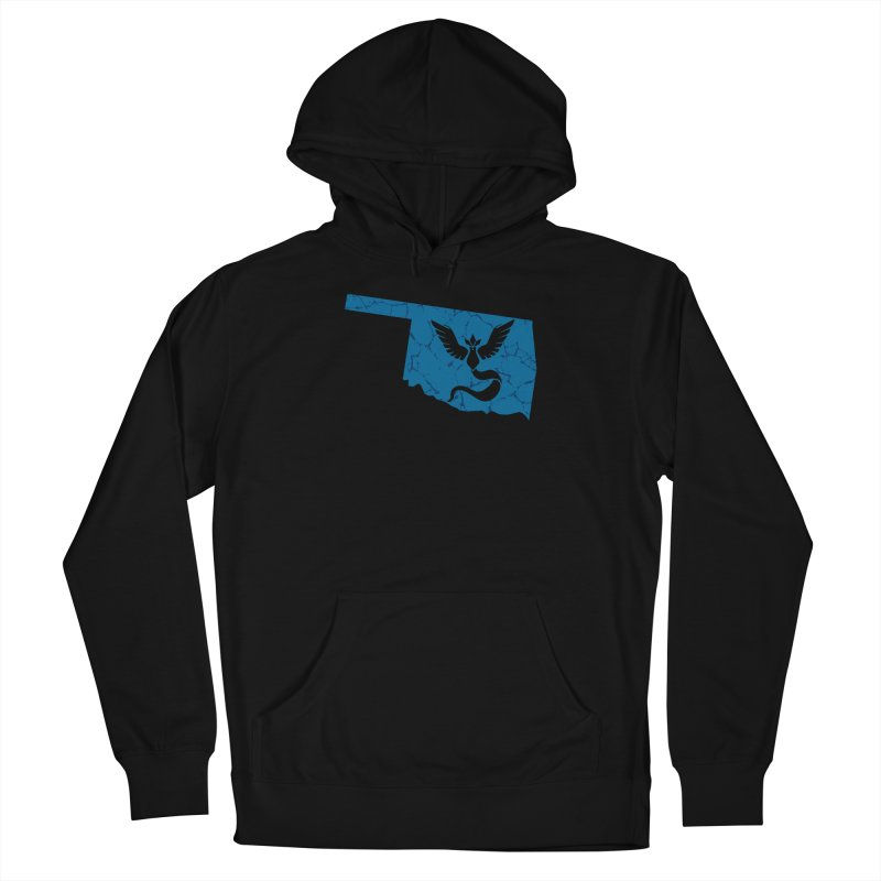 Pokemon Go Oklahoma - Team Mystic Men's Pullover Hoody by Oklahoma Gamers' Shop