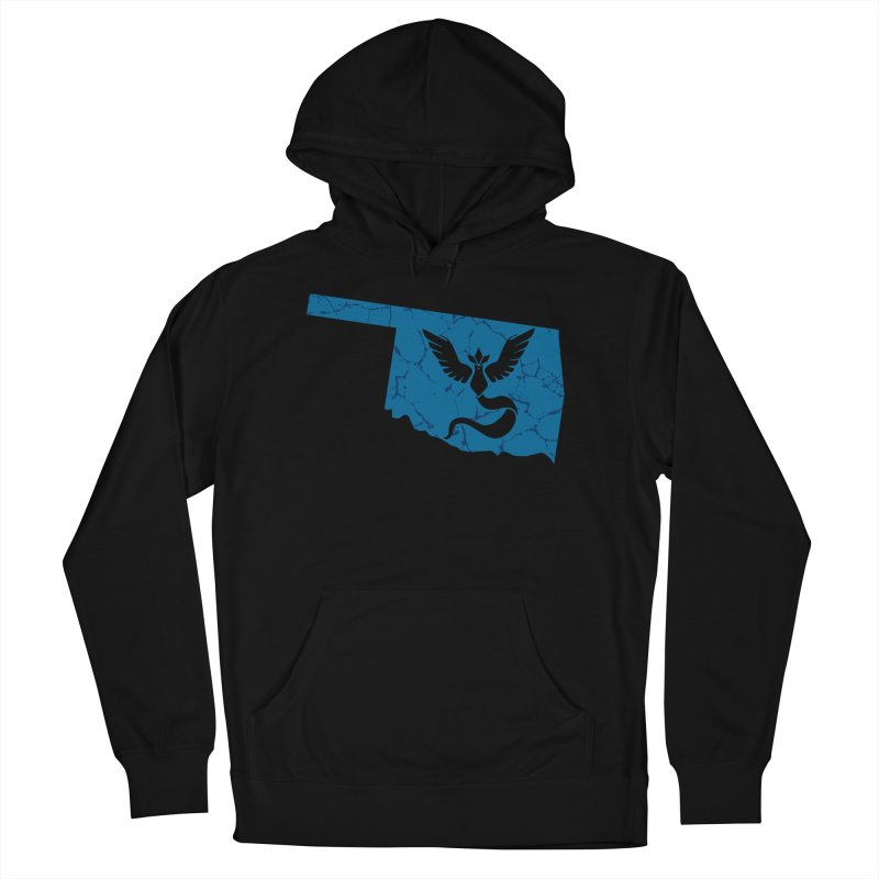 Pokemon Go Oklahoma - Team Mystic Women's French Terry Pullover Hoody by OKgamers's Shop