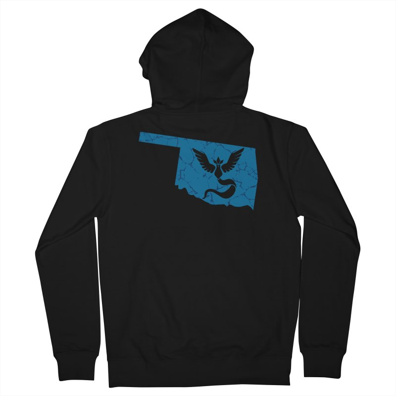 Pokemon Go Oklahoma - Team Mystic Women's French Terry Zip-Up Hoody by OKgamers's Shop