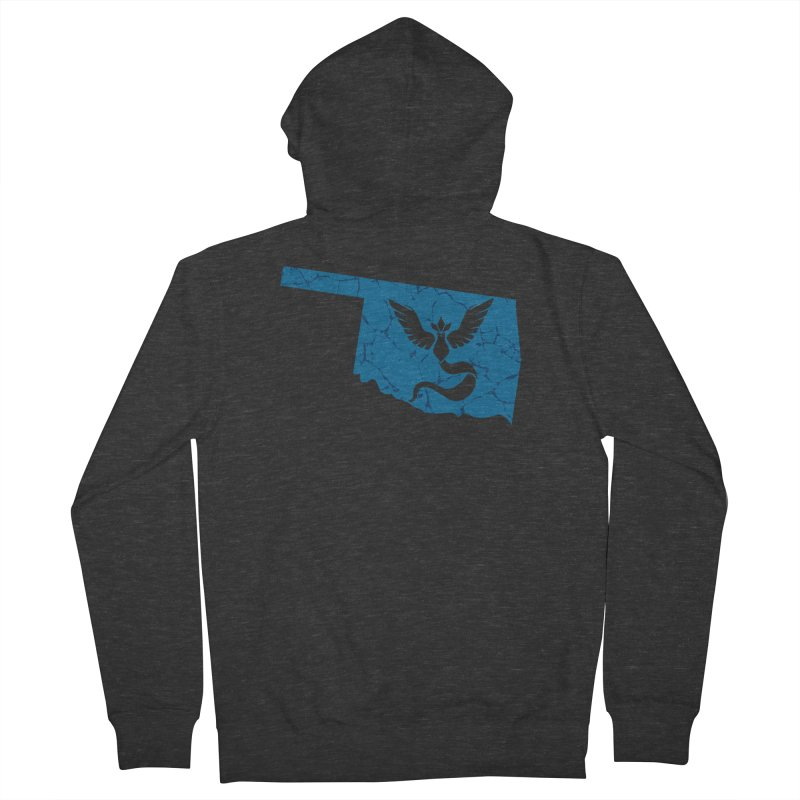 Pokemon Go Oklahoma - Team Mystic Men's French Terry Zip-Up Hoody by OKgamers's Shop