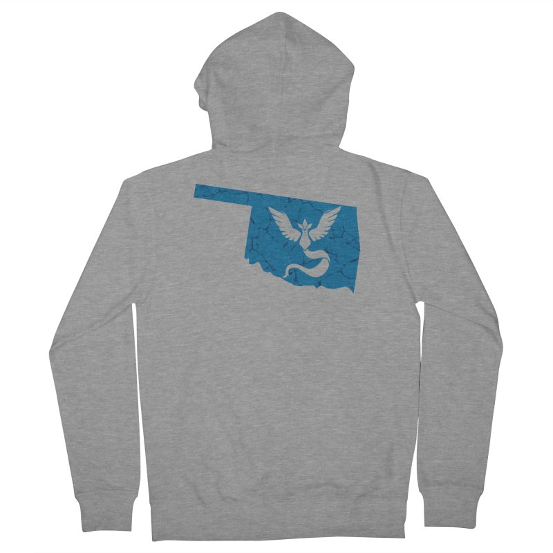 Pokemon Go Oklahoma - Team Mystic Men's Zip-Up Hoody by OKgamers's Shop
