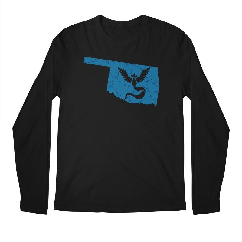Pokemon Go Oklahoma - Team Mystic Men's Longsleeve T-Shirt by Oklahoma Gamers' Shop