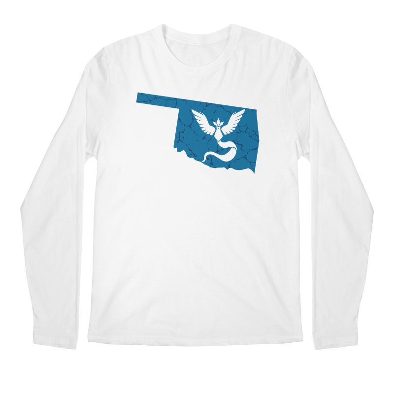 Pokemon Go Oklahoma - Team Mystic Men's Regular Longsleeve T-Shirt by OKgamers's Shop