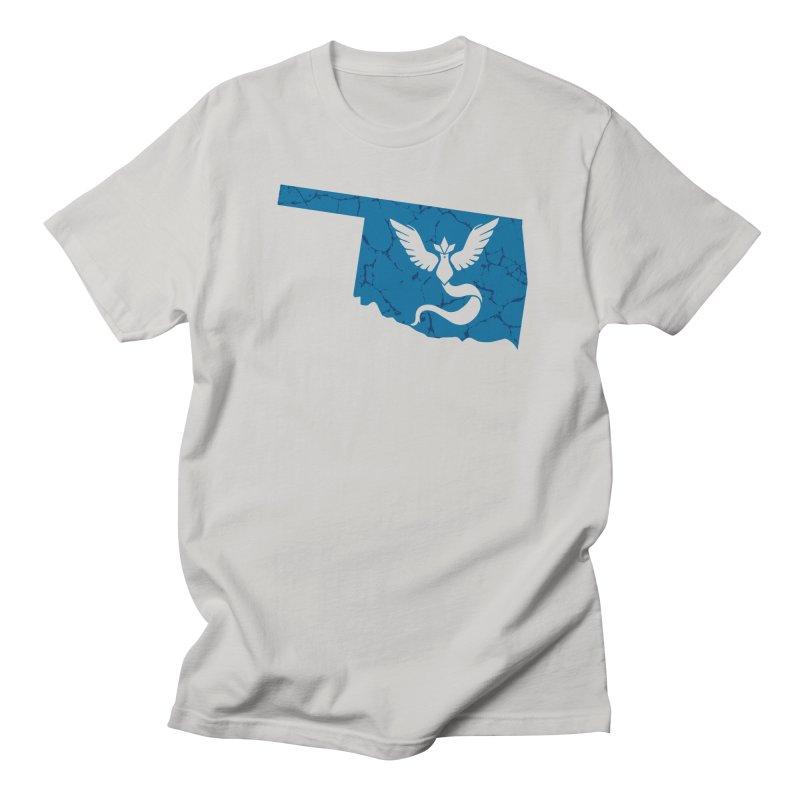 Pokemon Go Oklahoma - Team Mystic Men's T-Shirt by Oklahoma Gamers' Shop