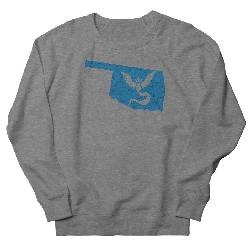 Pokemon Go Oklahoma - Team Mystic Men's French Terry Sweatshirt by Oklahoma Gamers' Shop