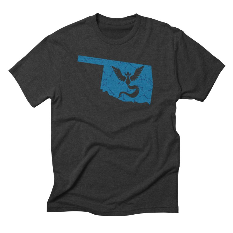 Pokemon Go Oklahoma - Team Mystic Men's Triblend T-Shirt by OKgamers's Shop