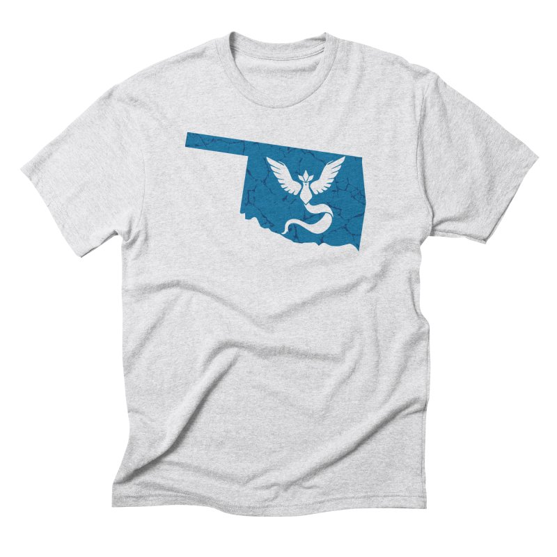 Pokemon Go Oklahoma - Team Mystic Men's Triblend T-Shirt by OKgamers's Shop