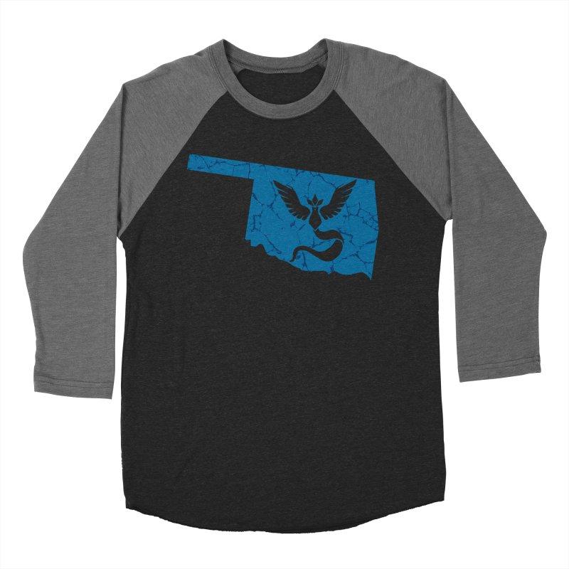Pokemon Go Oklahoma - Team Mystic Men's Baseball Triblend T-Shirt by OKgamers's Shop