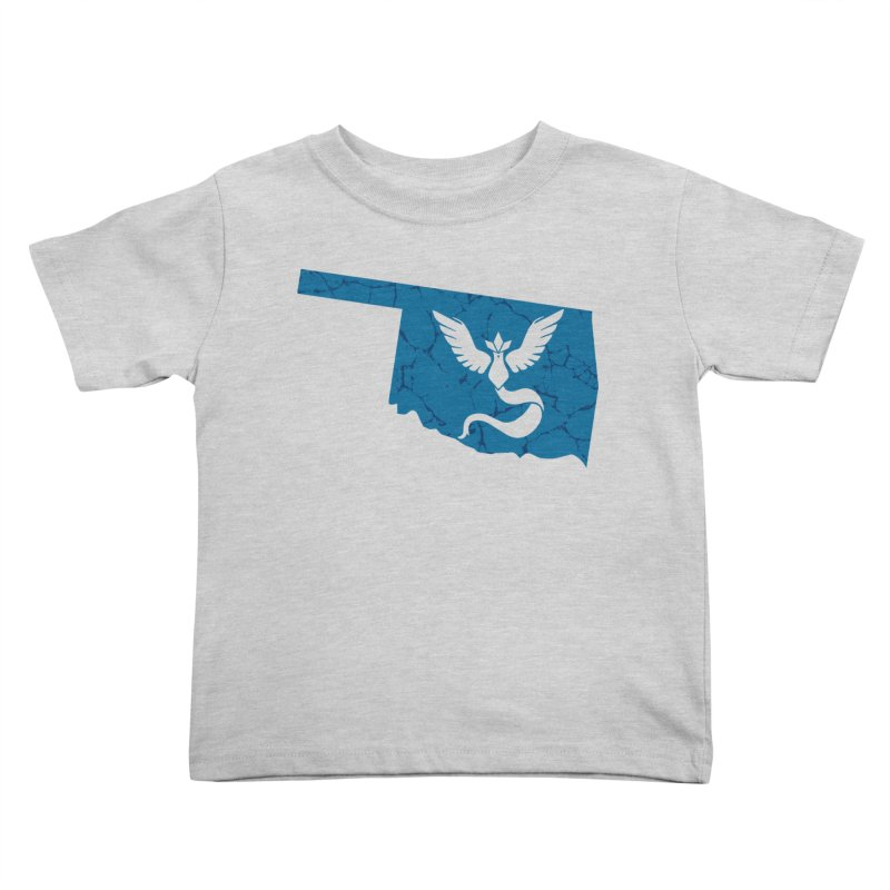 Pokemon Go Oklahoma - Team Mystic Kids Toddler T-Shirt by OKgamers's Shop