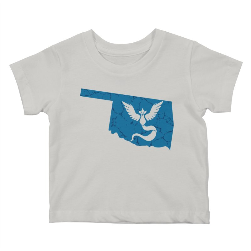 Pokemon Go Oklahoma - Team Mystic Kids Baby T-Shirt by OKgamers's Shop