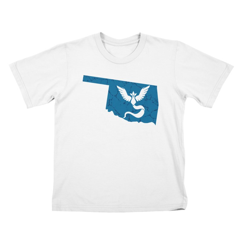 Pokemon Go Oklahoma - Team Mystic Kids T-Shirt by OKgamers's Shop