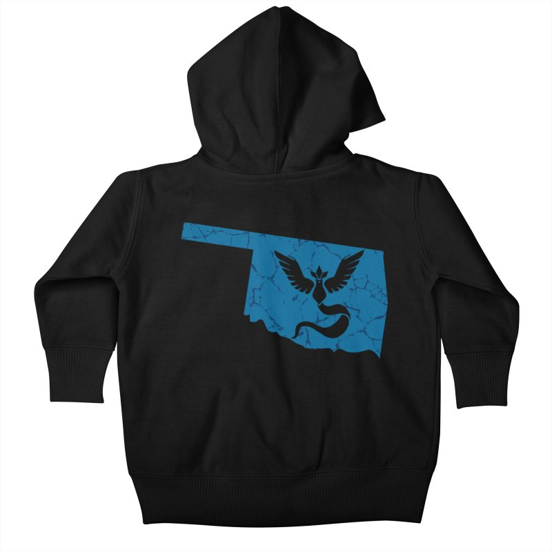 Pokemon Go Oklahoma - Team Mystic Kids Baby Zip-Up Hoody by OKgamers's Shop