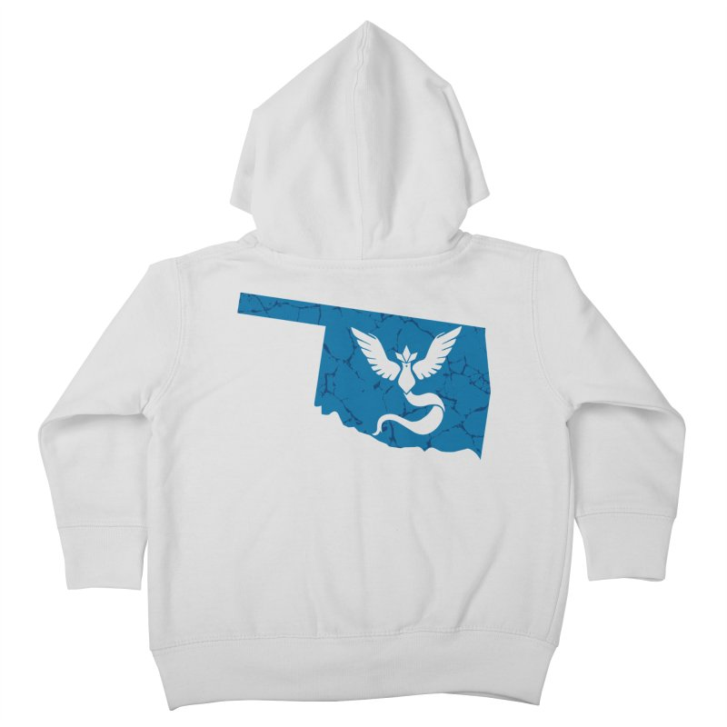 Pokemon Go Oklahoma - Team Mystic Kids Toddler Zip-Up Hoody by OKgamers's Shop