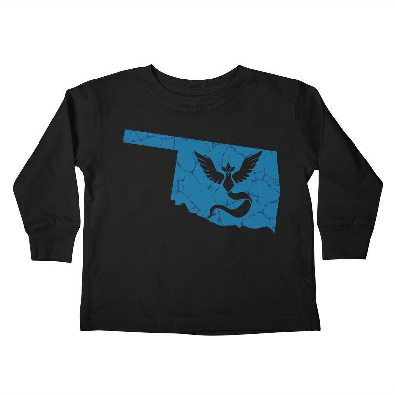 Pokemon Go Oklahoma - Team Mystic Kids Toddler Longsleeve T-Shirt by OKgamers's Shop