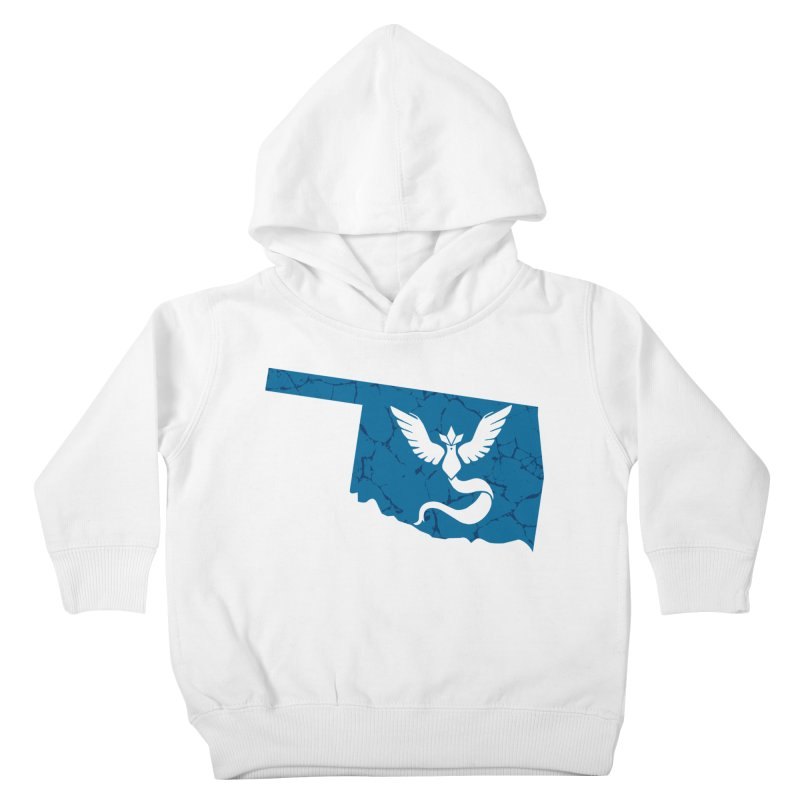 Pokemon Go Oklahoma - Team Mystic Kids Toddler Pullover Hoody by OKgamers's Shop