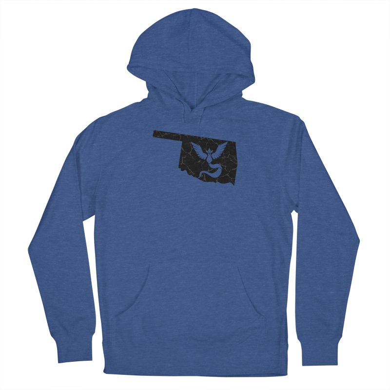 Pokemon Go Oklahoma - Team Mystic (Black) Women's Pullover Hoody by Oklahoma Gamers' Shop