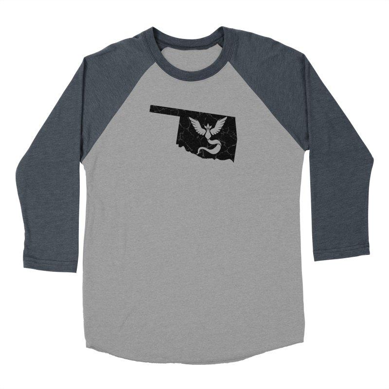 Pokemon Go Oklahoma - Team Mystic (Black) Men's Longsleeve T-Shirt by Oklahoma Gamers' Shop