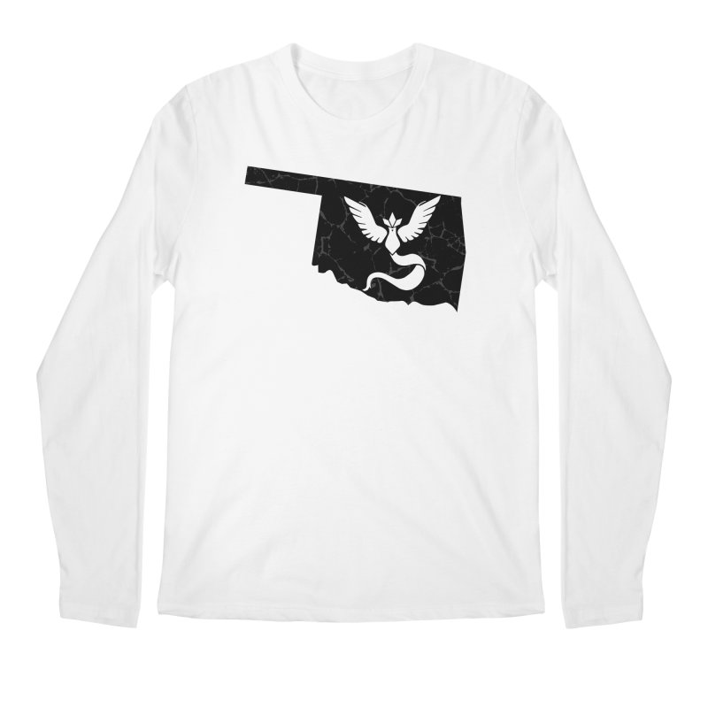 Pokemon Go Oklahoma - Team Mystic (Black) Men's Longsleeve T-Shirt by OKgamers's Shop
