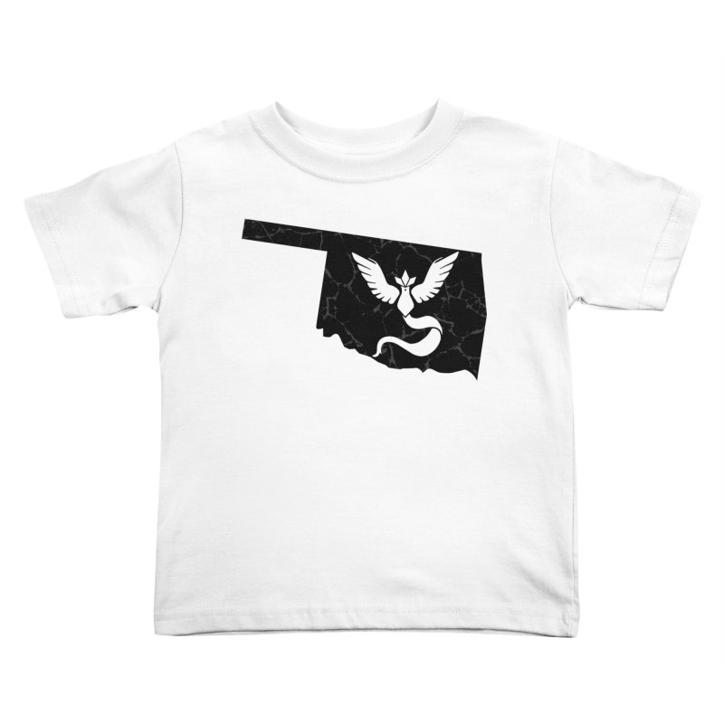 Pokemon Go Oklahoma - Team Mystic (Black) Kids Toddler T-Shirt by OKgamers's Shop
