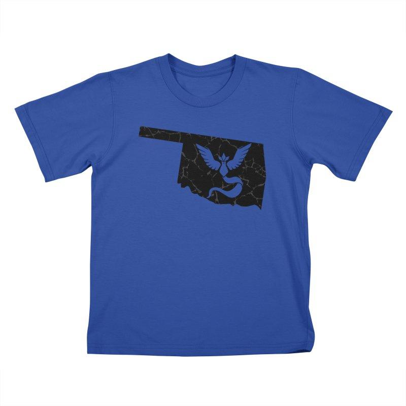 Pokemon Go Oklahoma - Team Mystic (Black) Kids T-shirt by OKgamers's Shop