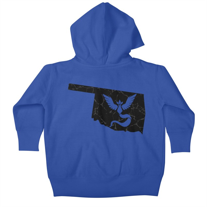 Pokemon Go Oklahoma - Team Mystic (Black) Kids Baby Zip-Up Hoody by OKgamers's Shop