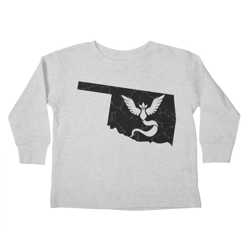 Pokemon Go Oklahoma - Team Mystic (Black) Kids Toddler Longsleeve T-Shirt by OKgamers's Shop