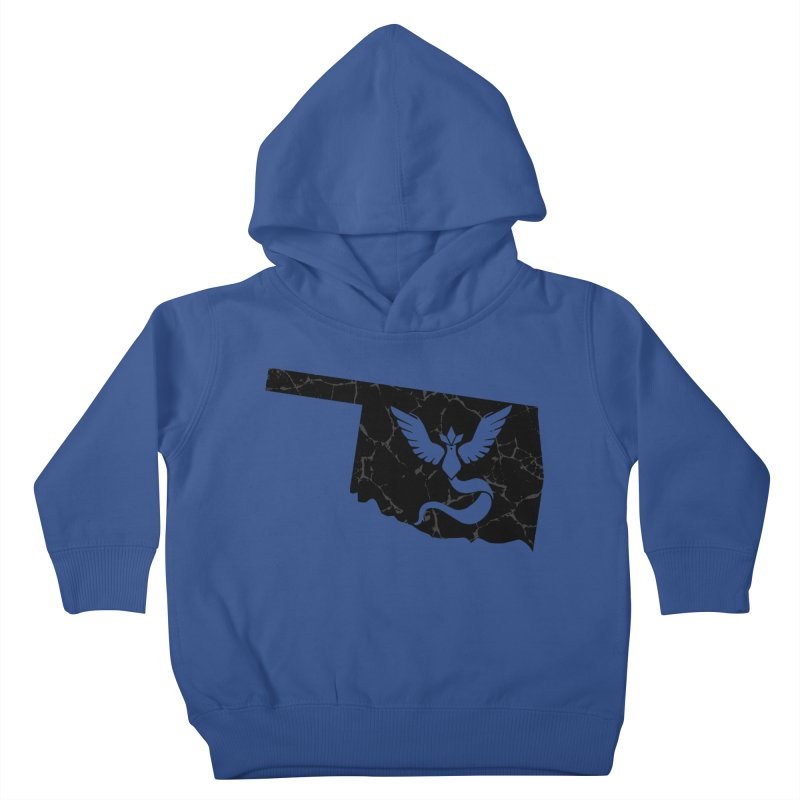 Pokemon Go Oklahoma - Team Mystic (Black) Kids Toddler Pullover Hoody by OKgamers's Shop