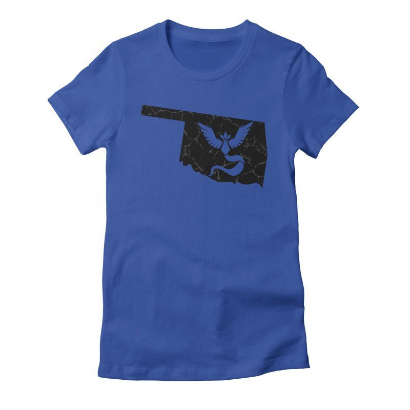 Pokemon Go Oklahoma - Team Mystic (Black) Women's T-Shirt by Oklahoma Gamers' Shop