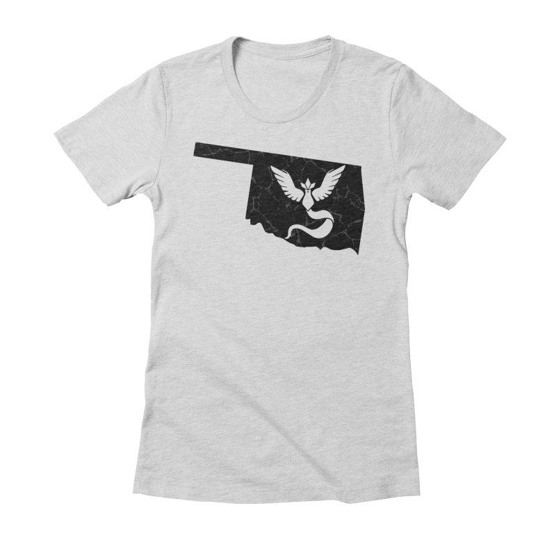 Pokemon Go Oklahoma - Team Mystic (Black) Women's T-Shirt by Oklahoma Gamers' Shop