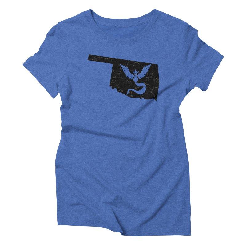 Pokemon Go Oklahoma - Team Mystic (Black) Women's Triblend T-Shirt by OKgamers's Shop