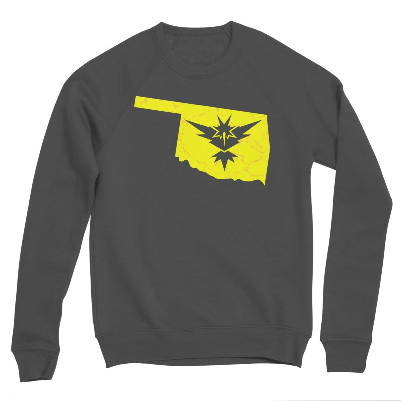 Pokemon Go Oklahoma - Team Instinct Women's Sponge Fleece Sweatshirt by Oklahoma Gamers' Shop