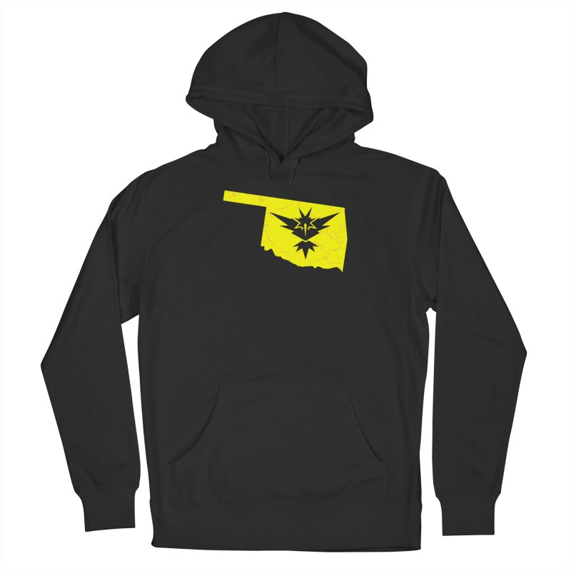 Pokemon Go Oklahoma - Team Instinct Women's French Terry Pullover Hoody by Oklahoma Gamers' Shop