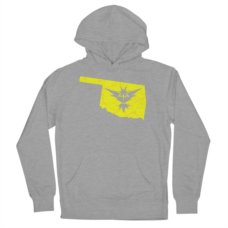 Pokemon Go Oklahoma - Team Instinct Women's French Terry Pullover Hoody by OKgamers's Shop
