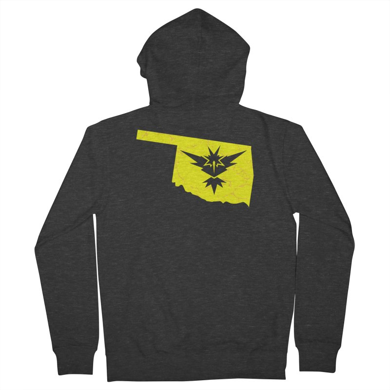 Pokemon Go Oklahoma - Team Instinct Women's French Terry Zip-Up Hoody by OKgamers's Shop