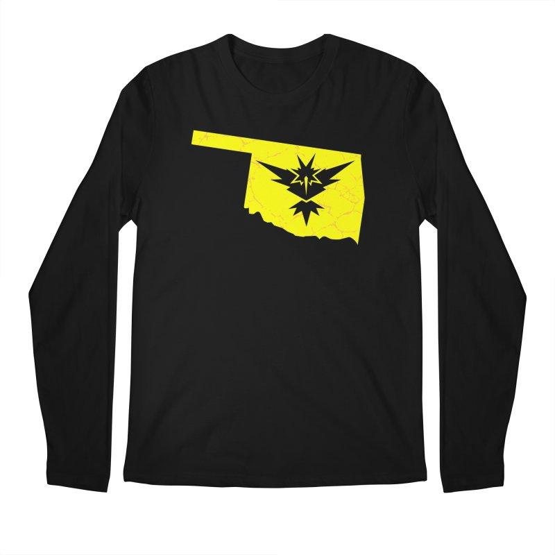 Pokemon Go Oklahoma - Team Instinct Men's Longsleeve T-Shirt by OKgamers's Shop