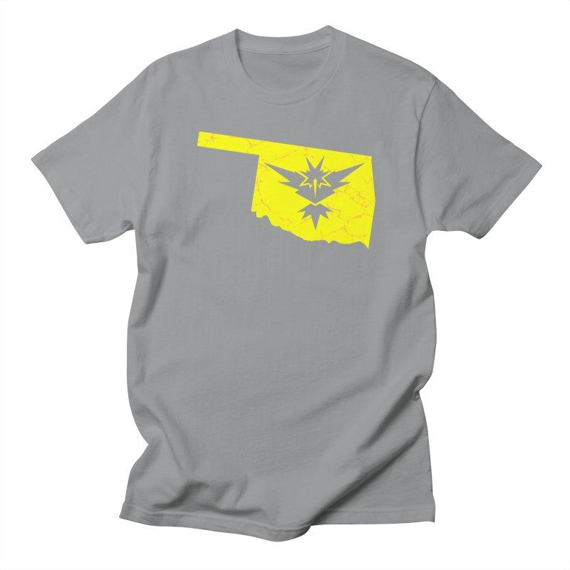 Pokemon Go Oklahoma - Team Instinct Men's T-shirt by OKgamers's Shop