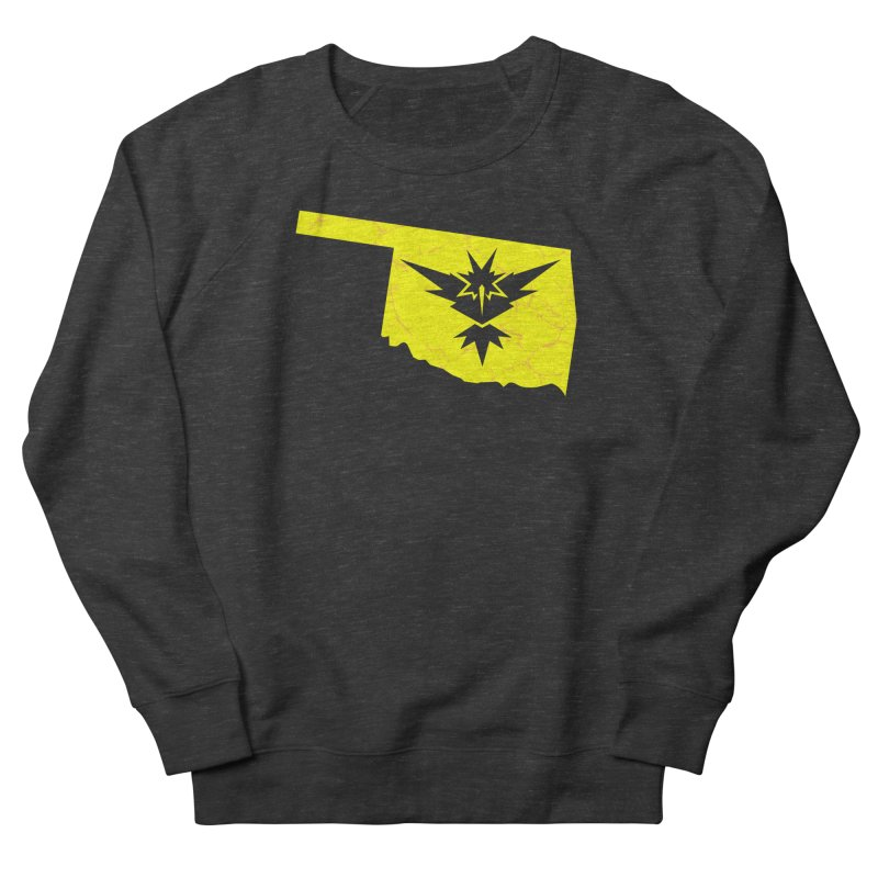 Pokemon Go Oklahoma - Team Instinct Women's French Terry Sweatshirt by OKgamers's Shop