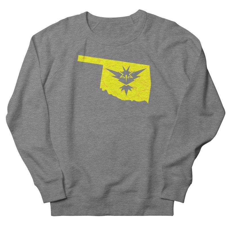 Pokemon Go Oklahoma - Team Instinct Women's French Terry Sweatshirt by Oklahoma Gamers' Shop