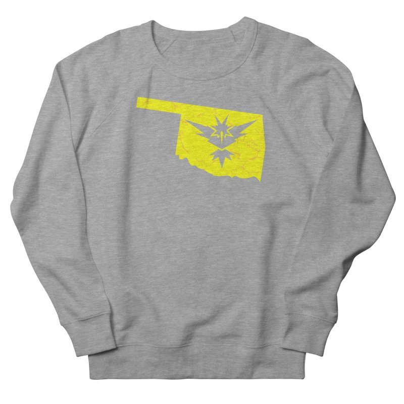 Pokemon Go Oklahoma - Team Instinct Men's Sweatshirt by OKgamers's Shop