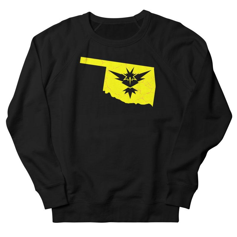 Pokemon Go Oklahoma - Team Instinct Men's Sweatshirt by Oklahoma Gamers' Shop