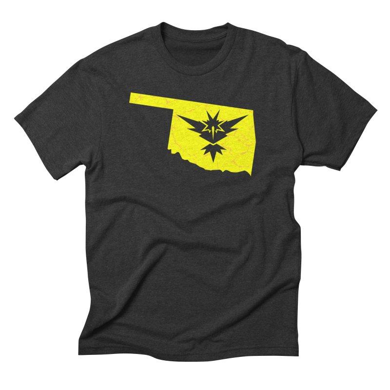 Pokemon Go Oklahoma - Team Instinct Men's Triblend T-Shirt by OKgamers's Shop