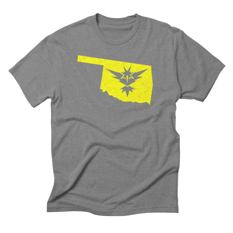Pokemon Go Oklahoma - Team Instinct Men's Triblend T-Shirt by OKgamers's Shop