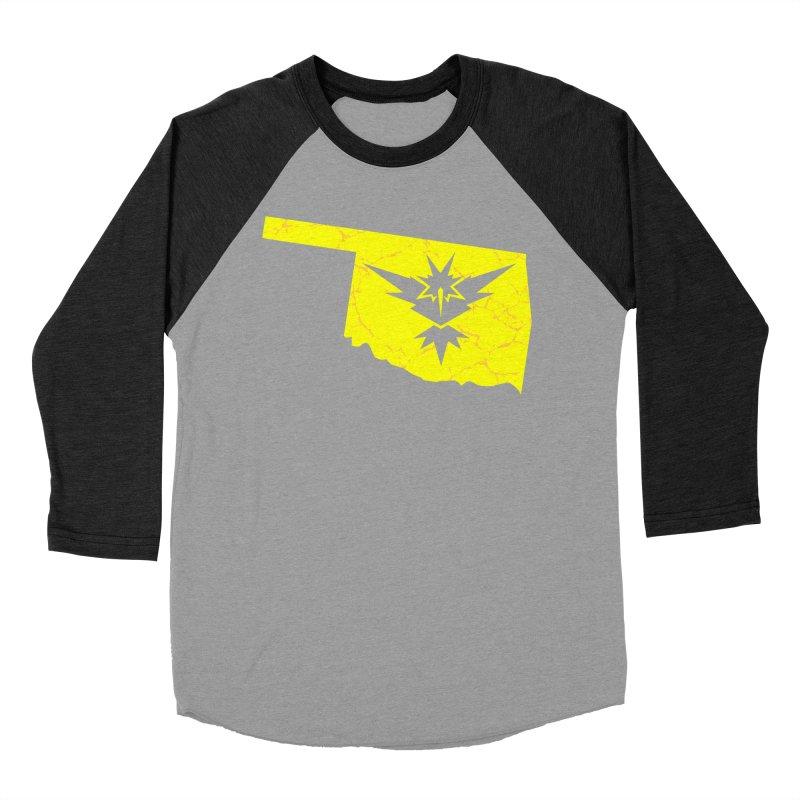 Pokemon Go Oklahoma - Team Instinct Men's Baseball Triblend T-Shirt by OKgamers's Shop