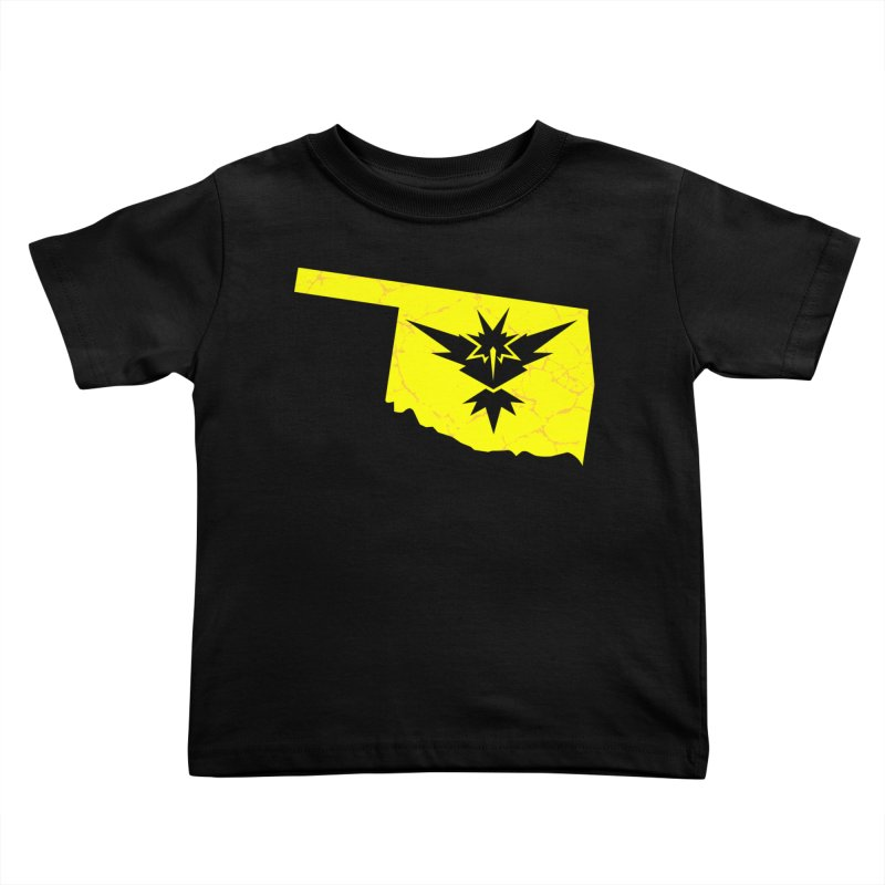 Pokemon Go Oklahoma - Team Instinct Kids Toddler T-Shirt by OKgamers's Shop