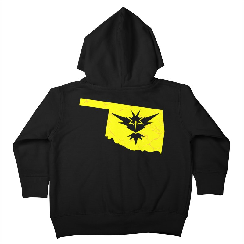 Pokemon Go Oklahoma - Team Instinct Kids Toddler Zip-Up Hoody by Oklahoma Gamers' Shop